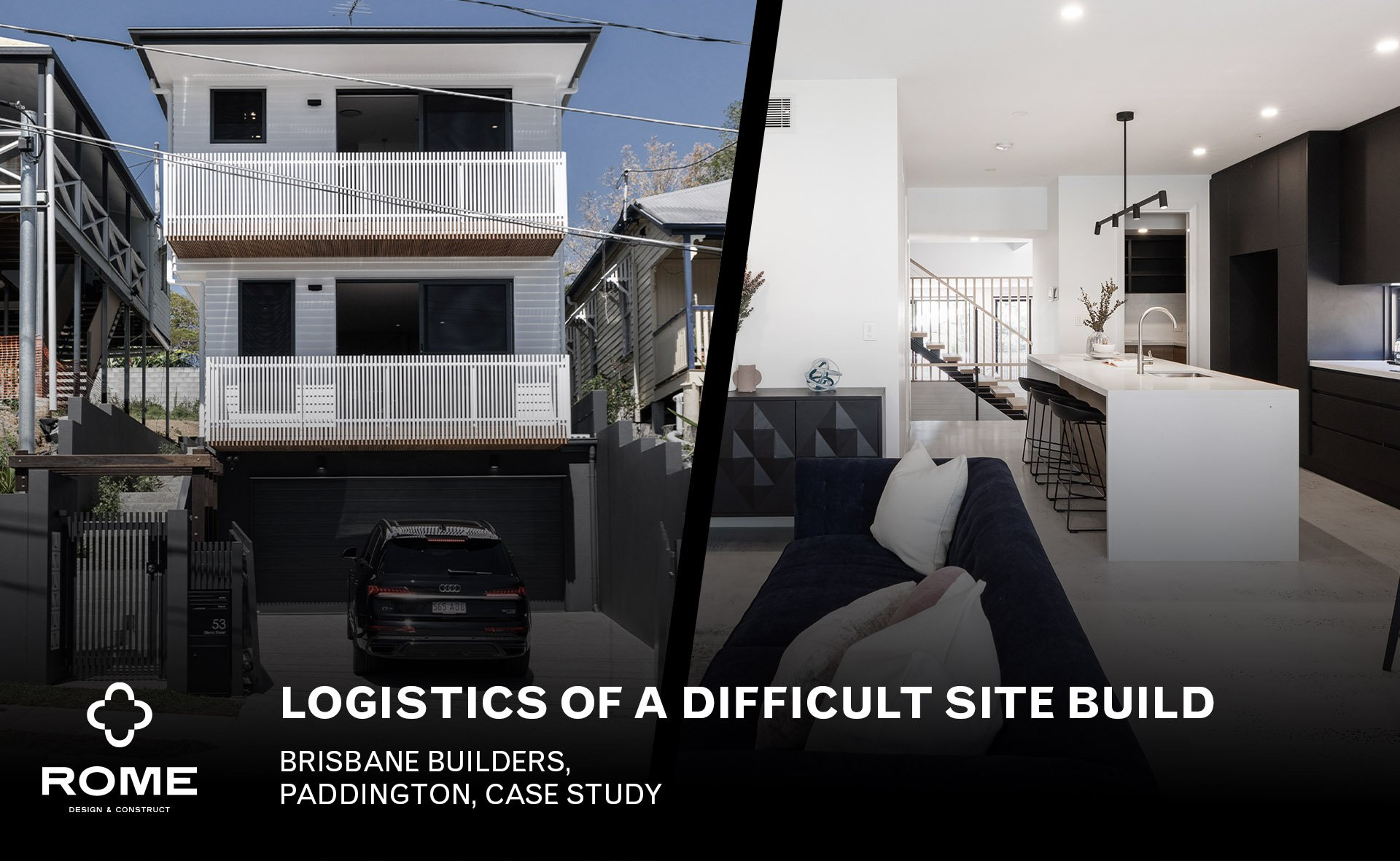 Logistics of a Difficult Site Build – Paddington, Brisbane Case Study